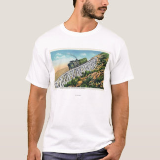 Mt Washington Cog Railway, Jacob's Ladder T-Shirt