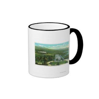 Mt Washington Hotel, Stickney Chapel View Coffee Mugs