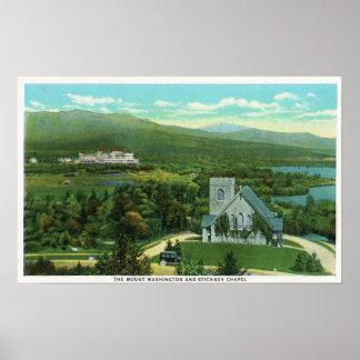 Mt Washington Hotel Stickney Chapel View Posters