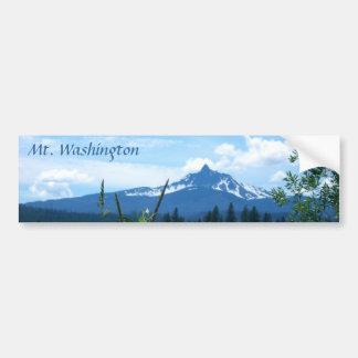 Mt. Washington Pegatina Para Auto
