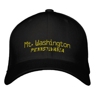 Mt. Washington Pennsylvania Baseball Cap