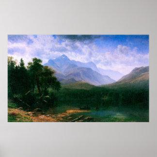 Mt. Washington por Bierstadt Póster