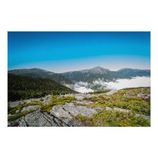 Mt. Washington Rolling Clouds Photo Print