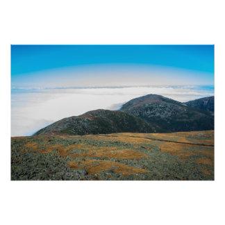 Mt. Washington Summit Horizon Photo Art