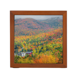 Mt. Washington Valley in Autumn Desk Organizer