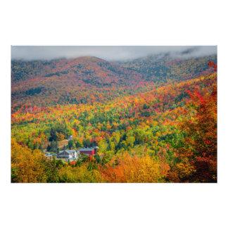 Mt. Washington Valley in Autumn Photo