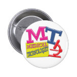 MT WHIMSICAL FUN ACRONYM LETTERS LABORATORY BUTTON