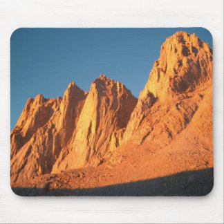Mt Whitney alpenglow Mouse Pad