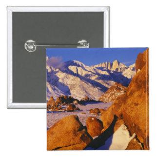 Mt. Whitney and Lone Pine peak Pins
