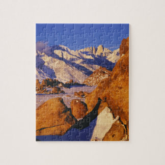 Mt. Whitney and Lone Pine peak Jigsaw Puzzle