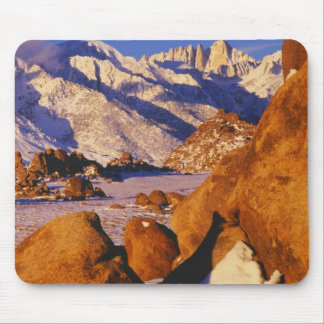 Mt. Whitney and Lone Pine peak Mouse Pad