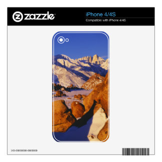 Mt. Whitney and Lone Pine peak Decals For The iPhone 4