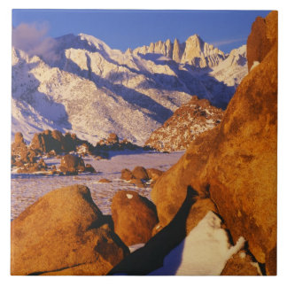 Mt. Whitney and Lone Pine peak Tile