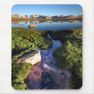 Mt Whitney de la meseta del Bighorn en el rastro Alfombrillas De Ratón