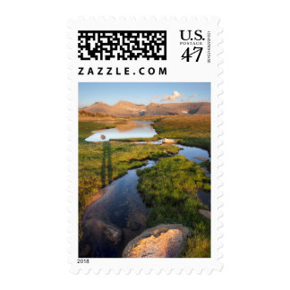 Mt Whitney from Bighorn Plateau 2 -  John Muir Tra Postage