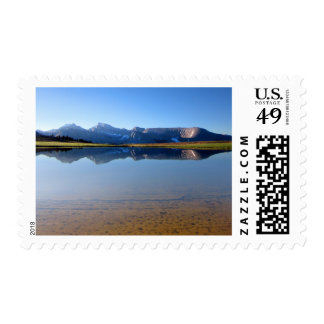 Mt Whitney from Bighorn Plateau 2- John Muir Trail Postage
