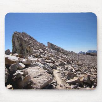 Mt Whitney needles Traverse 2 - John Muir Trail Mouse Pad