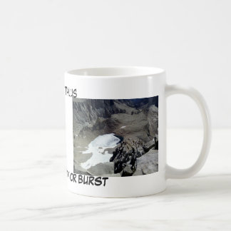 Mt. Whitney o explosión Taza De Café