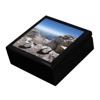 Mt Whitney Summit - John Muir Trail Jewelry Box