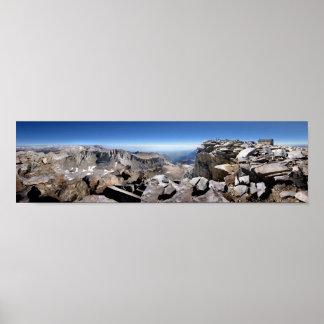 Mt Whitney Summit - John Muir Trail Poster