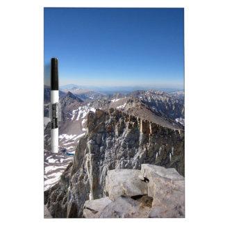 Mt Whitney Summit - John Muir Trail - Sierra Dry Erase Board