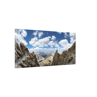 Mt Whitney Trail - John Muir Trail Canvas Print