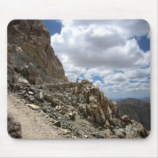 Mt Whitney Trail Junction - John Muir Trail Mouse Pad