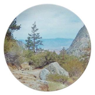 Mt Whitney Trail Plate - by Fern Savannah