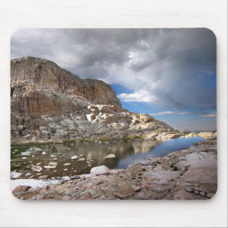 Mt Whitney Trail - Wotans Throne Over Trail Camp Mouse Pad