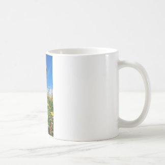 Mt. Wildflowers Classic White Coffee Mug