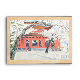 Mt Yoshino Famous Historic Places and Holy Places Envelope