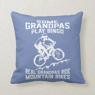 MTB Grandpa Throw Pillow