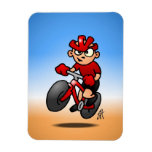 MTB - Mountain biker Magnets