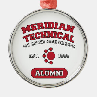 MTCHS Alumni College Style Metal Ornament