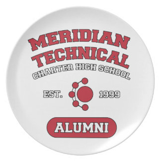 MTCHS Alumni College Style Plate