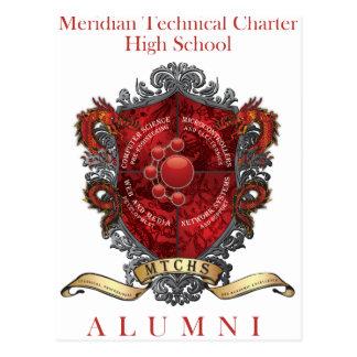 MTCHS Alumni Crest 1 Postcard