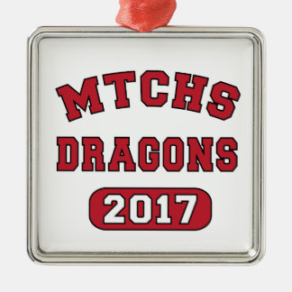 MTCHS Class of 2017 Proud Metal Ornament