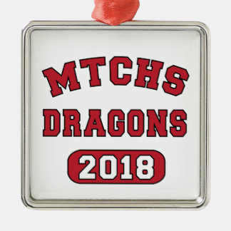 MTCHS Class of 2018 Metal Ornament