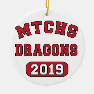 MTCHS Class of 2019 Swag Ceramic Ornament