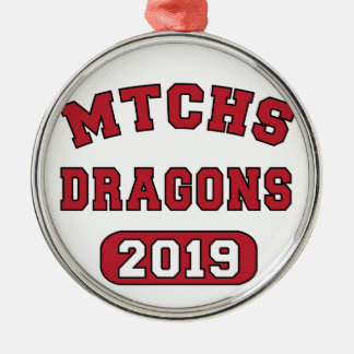 MTCHS Class of 2019 Swag Metal Ornament