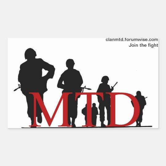 MTD Sticker 1
