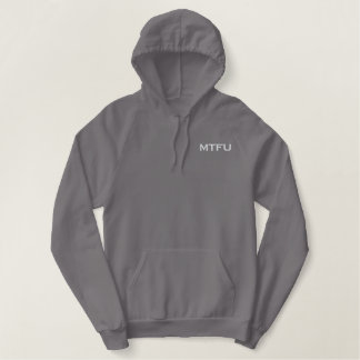 MTFU warm up CrossFit 732 Embroidered Hoodie