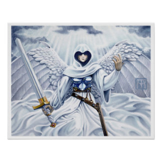 MtG Angel of Mercy Poster