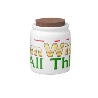 MTM Souvenirs Candy Jar