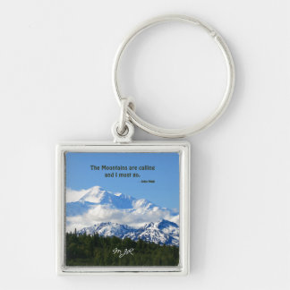 Mtns are calling / Denali - J Muir Keychain