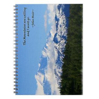 Mtns are calling/Denali-J Muir Notebook