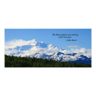 Mtns are calling / Denali - J Muir Rack Card