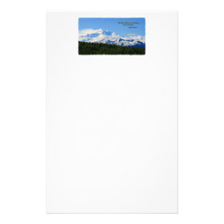 Mtns are calling/Denali-J Muir Stationery