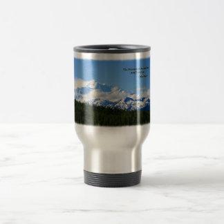 Mtns are calling/Denali-J Muir Travel Mug