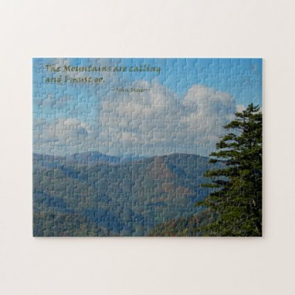 Mtns are calling… / Smoky Mtns Puzzles